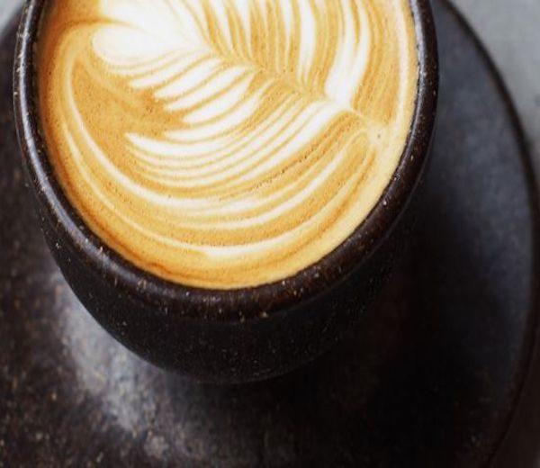 Чашка из кофейной гущи