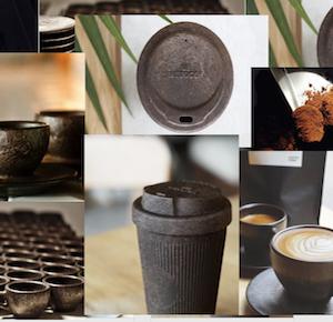 Сопутствующие товары из кофейной гущи